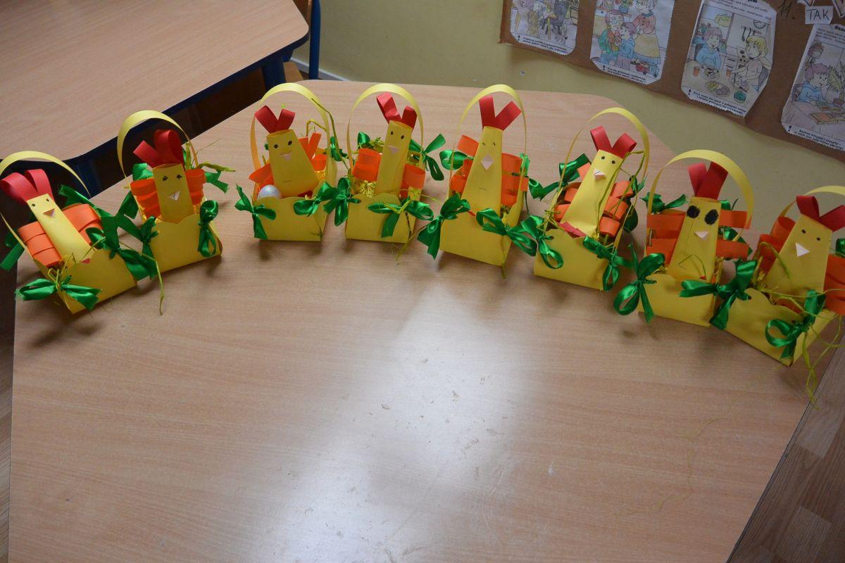 Przedszkole Chatka Puchatka Ozdoby Wielkanocne